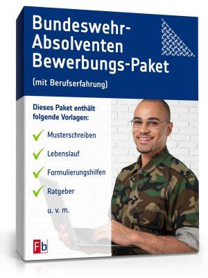 Bundeswehr-Absolventen Bewerbungs-Paket (mit Berufserfahrung)