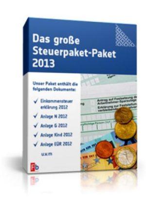 Das große Steuer-Paket 2013