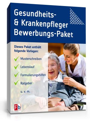 Gesundheits- und Krankenpfleger Bewerbungs-Paket