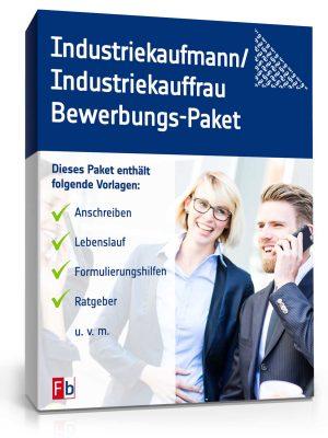 Industriekaufmann/ Industriekauffrau Bewerbungs-Paket