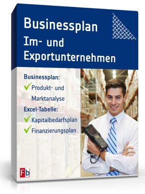 Businessplan Im- und Exportunternehmen