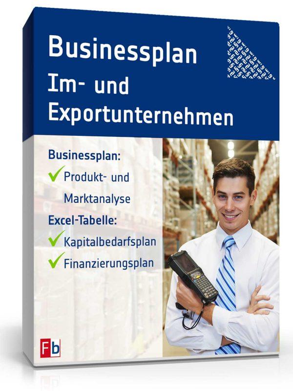 Businessplan Im- und Exportunternehmen 1