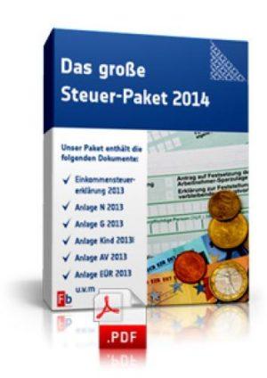 Das große Steuer-Paket 2014