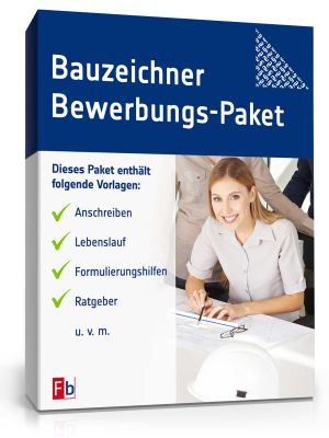 Bauzeichner Bewerbungs-Paket