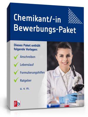 Chemikant / Chemikantin Bewerbungs-Paket