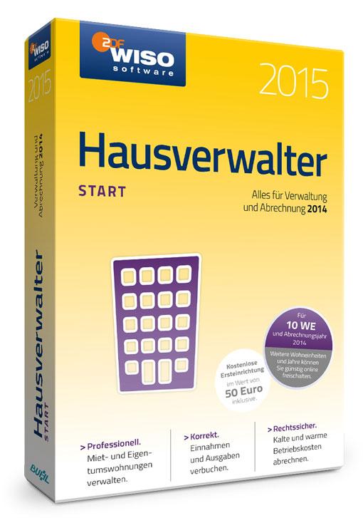 WISO Hausverwalter 2015 Start