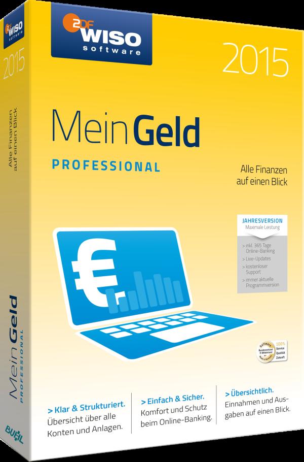 WISO Mein Geld 2015 Professional 365 Tage Version 1