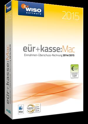 WISO eür&kasse:Mac 2015