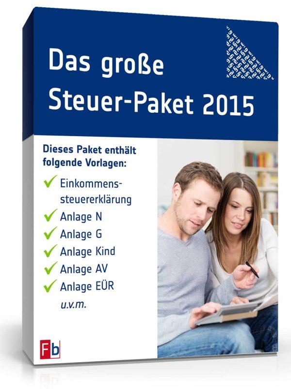 Das große Steuer-Paket 2015 1