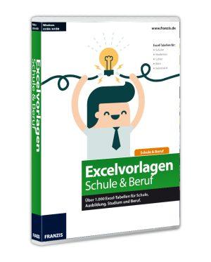 Franzis Excelvorlagen für Schule & Beruf