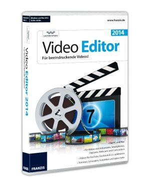 Franzis Video Editor 2014 für PC