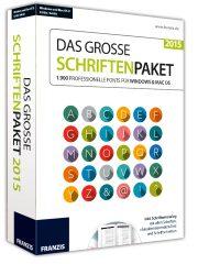 Franzis Das grosse Schriftenpaket 2015