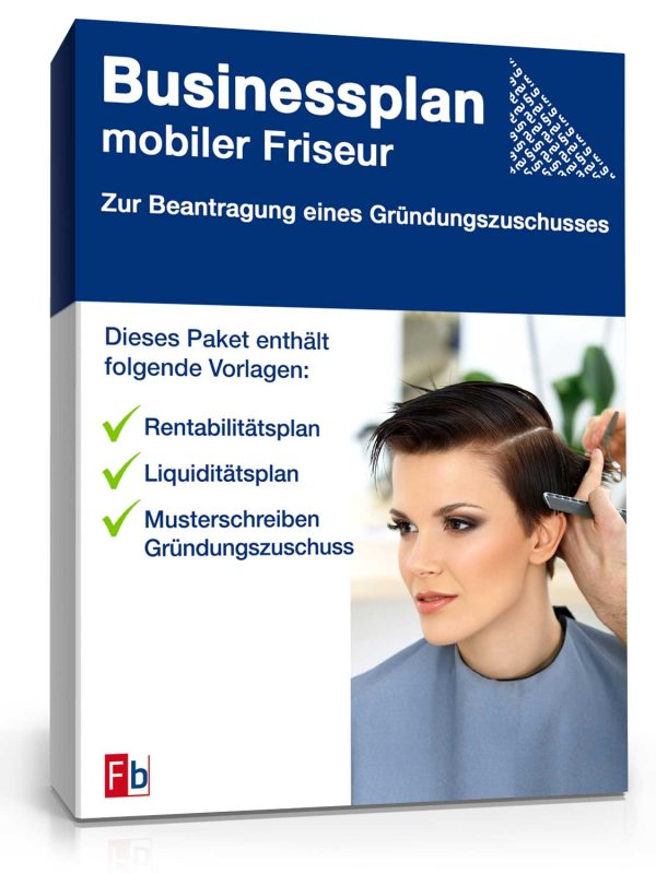 Businessplan mobiler Friseur 1