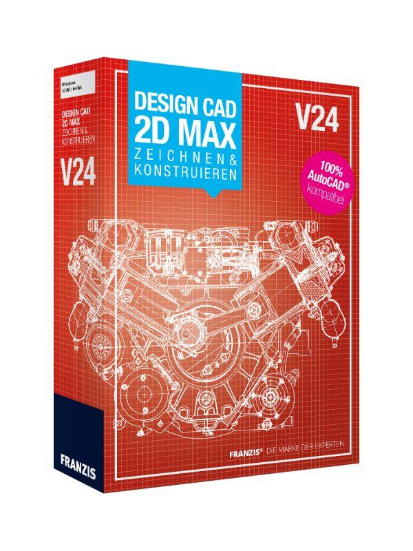 DesignCAD 2D MAX V24 Zeichnen & Konstruieren 1