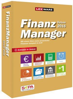 Lexware FinanzManager Deluxe 2016