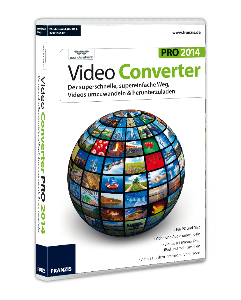 Franzis Video Converter Pro 2014 für Mac