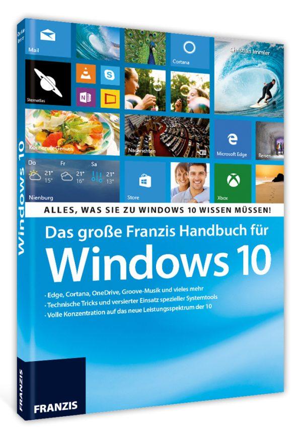 Das große Franzis Handbuch für Windows 10 1
