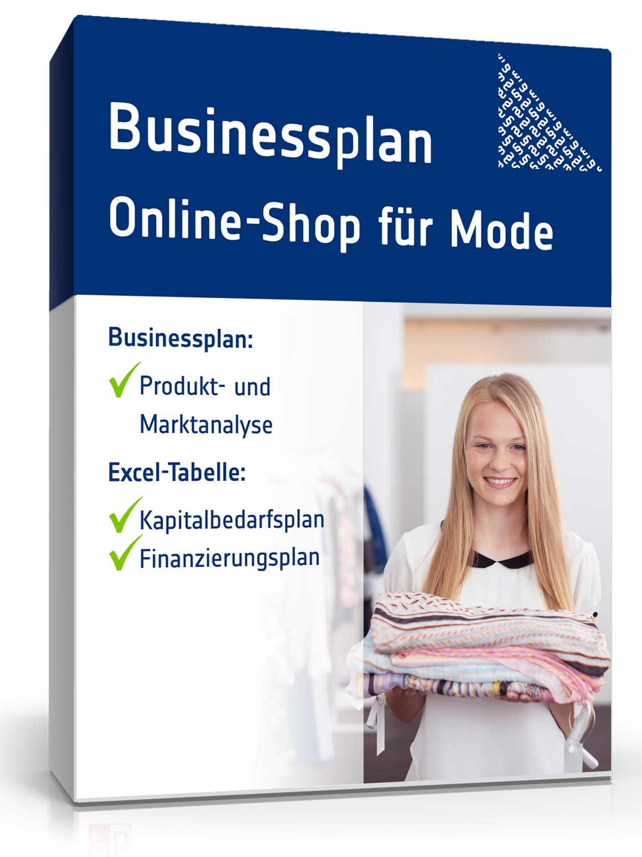 Businessplan Online-Shop für Mode