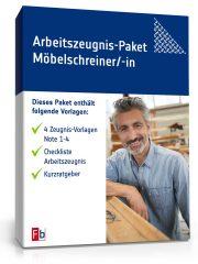 Arbeitszeugnis-Paket Möbelschreiner/-in