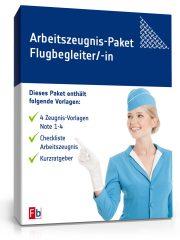 Arbeitszeugnis-Paket Flugbegleiter/-in