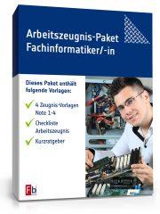 Arbeitszeugnis-Paket Fachinformatiker/-in