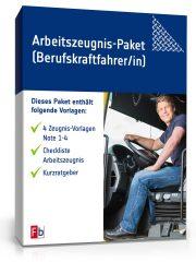 Arbeitszeugnis-Paket Berufskraftfahrer/-in