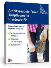 Arbeitszeugnis-Paket Tierpfleger/-in Pferdewirt/-in