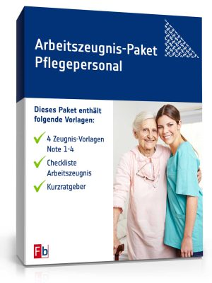 Arbeitszeugnis-Paket Pflegepersonal