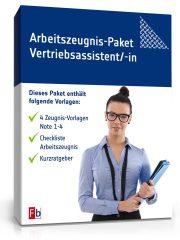 Arbeitszeugnis-Paket Vertriebsassistent/-in