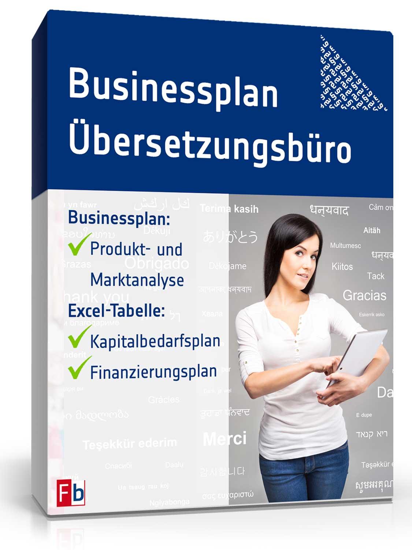 Businessplan Übersetzungsbüro