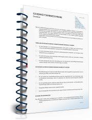 Checkliste: Sicherheitskennzeichnung