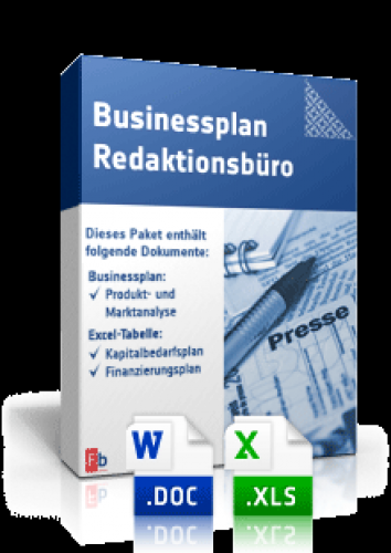 Businessplan Redaktionsbüro