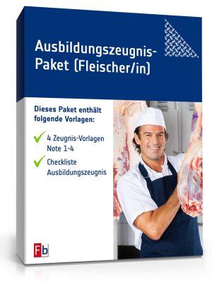 Ausbildungszeugnis-Paket Fleischer/in