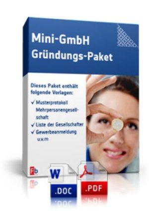 Mini-GmbH Gründungs-Paket