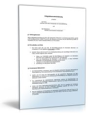 Betriebsvereinbarung Integration