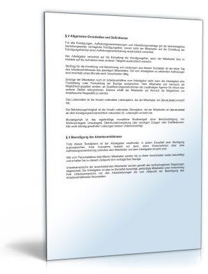 Betriebsvereinbarung über den Sozialplan wegen Personalabbau