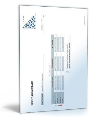 Dienstplan (PDF)