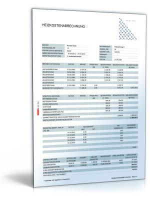 Heizkostenabrechnung