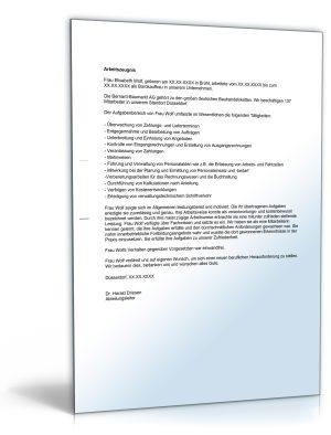 """Arbeitszeugnis """"ausreichend"""" (Bürokaufmann/Bürokauffrau)"""