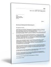 Anschreiben Bewerbung Arbeitsplatz (Abitur, abgeschl. Berufsausbildung, mit Berufserfahrung)