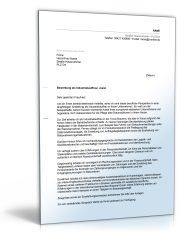 Anschreiben Bewerbung (Industriekauffrau/-mann)