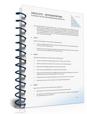 Checkliste - So bereiten Sie die Schlussbesprechung (Betriebsprüfung) optimal vor