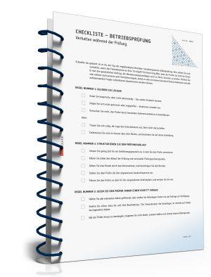 Checkliste - Verhalten während der Betriebsprüfung