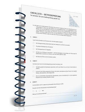Checkliste Betriebsprüfung: So bereiten Sie eine Außenprüfung gezielt vor