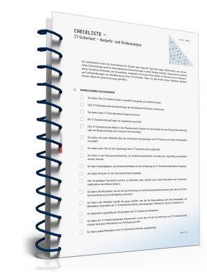 Checkliste: IT-Sicherheit - Bedarfs- und Risikoanalyse