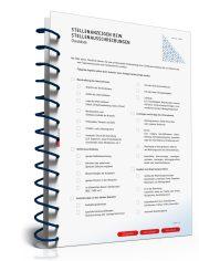 Checkliste Stellenausschreibung