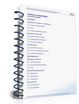 Checkliste zur Selbstständigkeit aus Anstellung