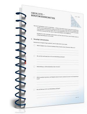 Checkliste Berufswiedereinstieg