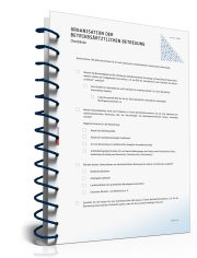 Checkliste: Organisation betriebsärztliche Versorgung