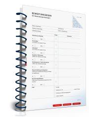 Bewertungsbogen für Bewerbungsunterlagen